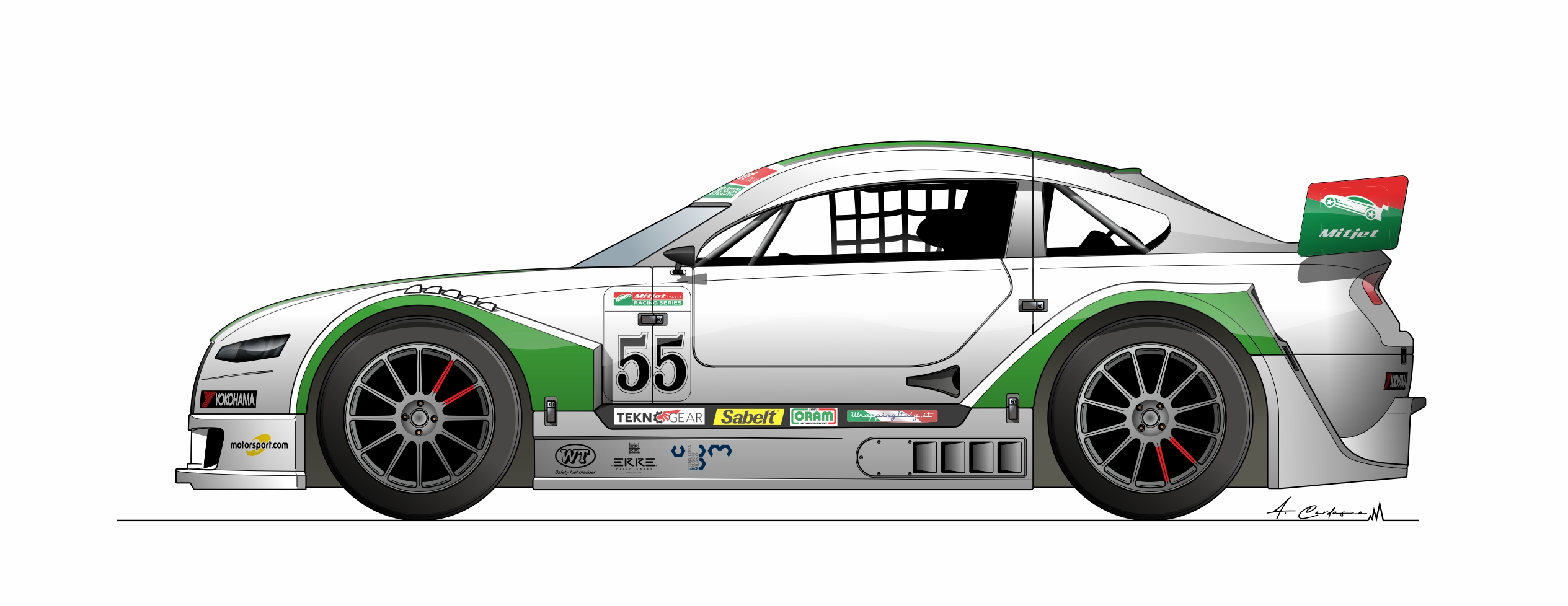 Francesco Malvestiti - Team The Club Motorsport